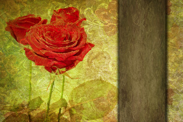 valentine abstract romantic vintage background