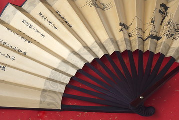 Open chinese fan