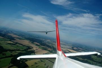 Aerotow flight