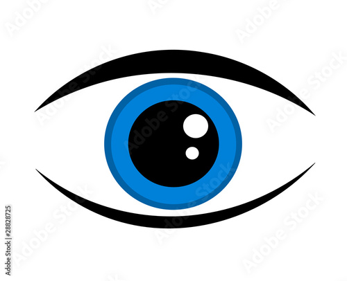 Blue Eye Icon Stock Image And Royalty Free Vector Files On Fotolia