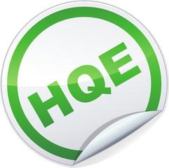 Sticker HQE (détouré)