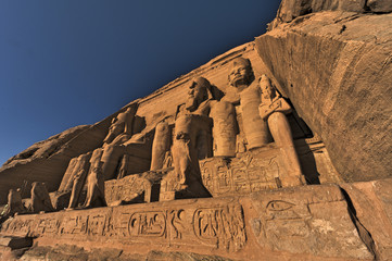 The Great Temple of King Ramses II. Abu Simbel (Nubia, Egypt)