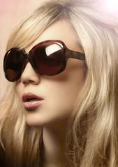 Photo of girl in sunglasses