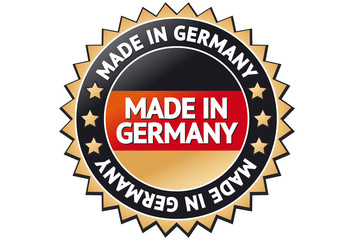 Made in Germany Siegel / Button