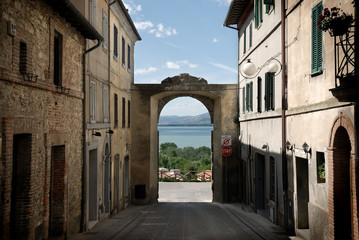 Fotomurales - Castiglione del lago, Umbria