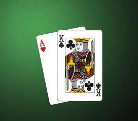 poker card AK