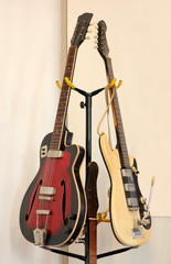Two old Guitars