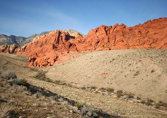 A Red Rock Canyon National Conservation Area Scene