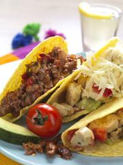 platter of tacos