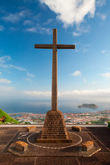 The view from the little church on Azores