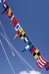 Mástiles y banderas