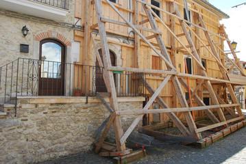 The earthquake in the city of L'Aquila - Abruzzo - Italy 008