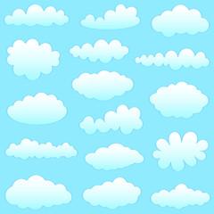 Keuken foto achterwand Hemel clouds collection