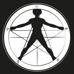 goldener schnitt - pentagramm