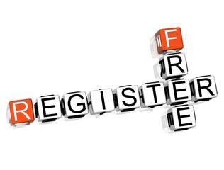 Free Register Crossword