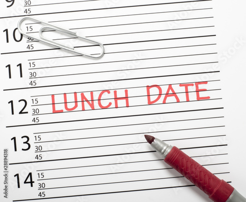 calendar reminder lunch date stock photo and royalty free images
