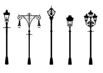 Street lighting Fotomurales