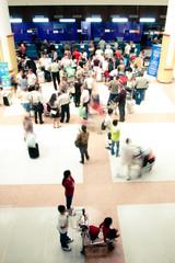 Photo sur Toile Aeroport Flight check-in