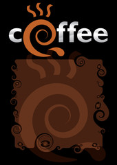 template for the coffee menu