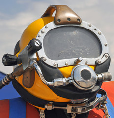 The U.S. Navy MK-21 Diving Helmet