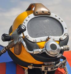 The U.S. Navy MK-21 Diving Helmet