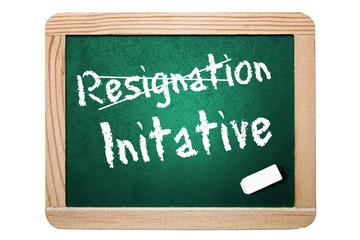Resignation Initative