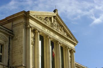 palais de justice à Nice