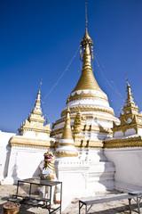 relic,Thai Temple,Mae Hong Son In Thailand