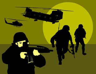 Keuken foto achterwand Militair reconnaissance