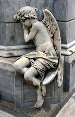 Engelsskulptur, Friedhof Recoleta, Buenos Aires