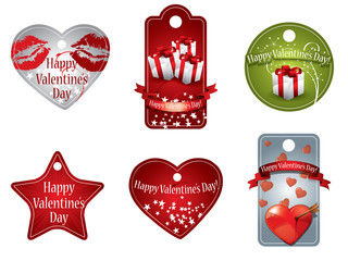 Valentine's Day price tags