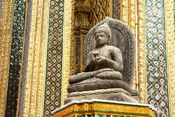 ワットプラケオの仏像