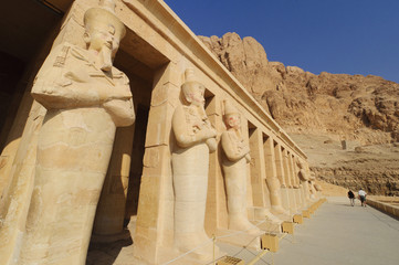 Memorial Temple of Hatshepsut. Luxor, Egypt