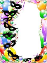 Festa in Maschera Sfondo-Carnival Party Background-2-Vector