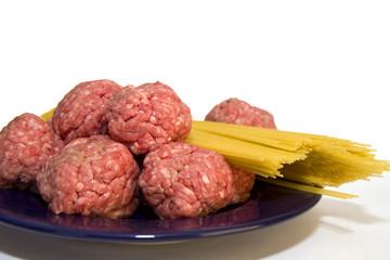 Cooking Meatballs & Pasta
