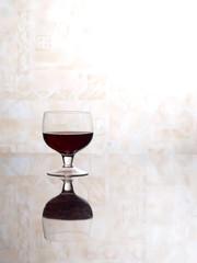 Glasses wine