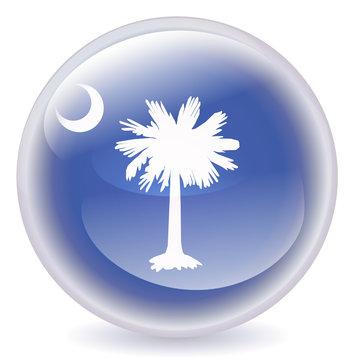 South Carolina Crystal Ball Icon