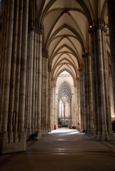 aisle of Cologne cathedral