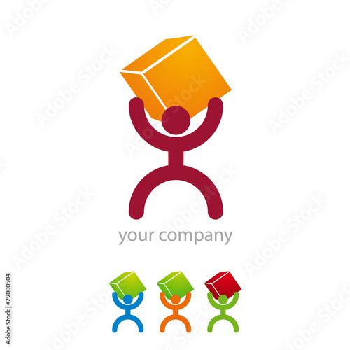 Logo Entreprise Déménagement Stock Image And Royalty Free