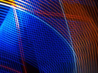 Linien aus Licht