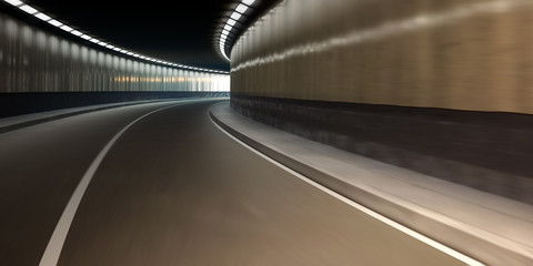 Wall Murals Tunnel Autotunnel