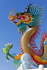 many big dragons are color , a city is Nakolsawun, Thailand