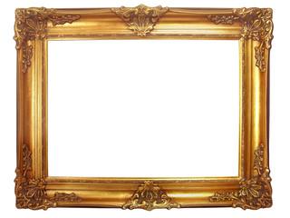 cadre en bois doré ancien