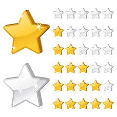 Rating stars for web-2