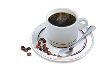 Morning Hot Coffee