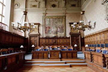 Première cour d'Appel du Palais de Justice de Paris