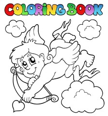 Coloring book with Cupid 1