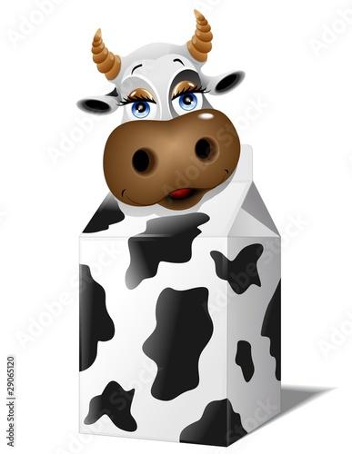 Quot mucca da latte cartoon milk cow vector immagini e