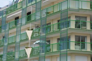 France, immeuble à la La Baule Escoublac