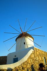 Venetian Windmill at Mykonos Island